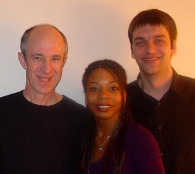 vlnr: Raymond, Ibernice & moi